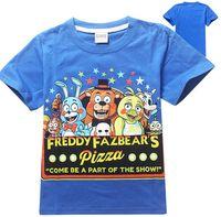 Wholesale Boys Wear Wholesale - Wholesale-HOT!! 2015 Fashion T-shirt Five Nights at Freddy 's children's wear t-shirts The children's short sleeve T-shirt, 8148