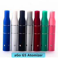 Wholesale Dry Herb Atomizer Cartridge - 2016 Smoke Dry Herb Chamber Cartridge Vaporizer Ago G5 Atomizer Clearomizer for Wind proof E-Cigarette Dry Herb Vaporizer G5 Pen DHL Free