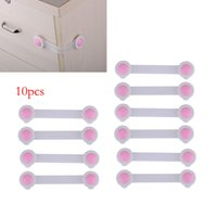 Wholesale Bendy Door Drawers - Hot sale 10pcs lot,16CM long style Cute Cartoon Bendy Door Drawers Safety Lock For Child Kids baby safety lock