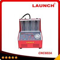 Wholesale Best Price Launch - 100% Origninal Launch CNC-602A CNC602A injector cleaner and tester With English Panel best price free shipping DHL