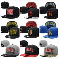Wholesale Rebel Caps - 2016 New Rebel Cap Hat Letter Gorras Hip Hop For Men Snapbacks Casquette Bone Aba Reta Bones Gorras