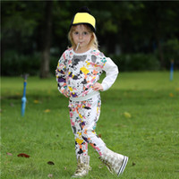 Wholesale retail kids clothes piece resale online - Pettigirl New Retail Girls Clothing Sets Designer kids Camouflage Pattern Baby Cotton Outfits For Kids Clothing CS80727 C