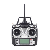 Wholesale toy airplanes helicopters online - Hot sale flysky FS T6 G CH Transmitter Mode Radio Remote Controller With Rreceiver For Rc Airplanes Helicopter Glider Dropshipping