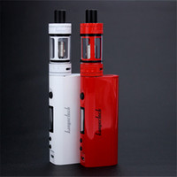 Wholesale Top E Cigs - Kangertech Topbox Mini Starter Kit 4ml Clone Top Filling Tank Vaporizer Box Mods Kanger Topbox Mini 75W E cigs Temp Control Vape Kits