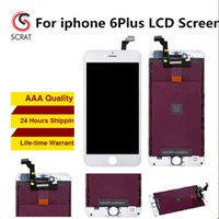 Wholesale Lcd Dot Display - No Dots Grade AAA Quality iPhone 6 iphone 6 Plus LCD Display Touch Digitizer Complete Screen with Assembly Repair Replacement free shipping