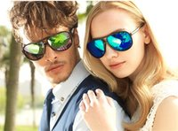 Wholesale Men Frog Sunglasses - Men's Colorful Classical Frog Sunglasses Oculos De Sol Masculino Eyeglasses Glasses Oculos Outdoors UV Protection 10Pcs Lot Free Shipping