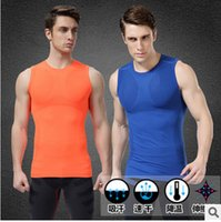 Wholesale Designer Underwear For Men - Wholesale-Designer brand mens slimming body shaper waist training corsets for men girdle vests compression underwear male tank tops