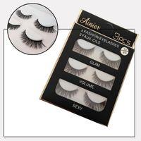 Wholesale Sexy Semi - 3D Mink Hair False eyelashes 40 Styles Handmade Beauty Thick Long Soft Mink lashes Fake Eye Lashes Eyelash Sexy