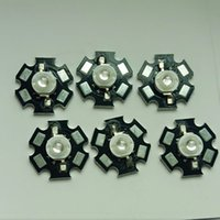Wholesale 1pcs W warm white Multi Color LED chips Star pcb Bead Unit Cooling Board Modular