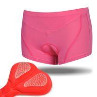 Wholesale Custom Underwear Men - Wholesale-Cheji pink color women cycling underwear Highly breathable coolmax pad size S-3XL wholesale custom bike under shorts