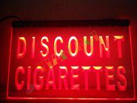 Wholesale Discounted Led Light Bars - LB877-r Discount Cigarettes Shop Cigar Pipe Light Sign. Advertising. led panel led sign.jpg