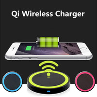 Qi Wireless Charger Receiver With Packing Box Cabo USB para Samsung S6 Edge s7 edge s8 plus iphoneX