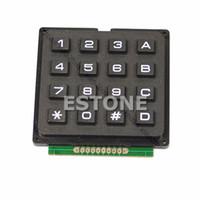 Wholesale 4x4 Matrix - Free Shipping New 16 4x4 Matrix Keyboard Keypad Use Key AVR PIC Stamp Sml order<$18no track