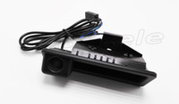 Wholesale Trunk Handle Car - Trunk handle camera for BMW 2014 X5 X6  3-series 5-series X1,320i X6,335i  HD 600TVL car rearview camera Night vision waterproof