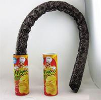 brinquedos de cobras venda por atacado-Dia de tolo de abril decoração do partido de dia das bruxas brinquedos da novidade engraçado batata pode saltar brincadeira de brincadeira de cobra primaveril divertido piada ic899