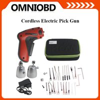 Wholesale Car Cordless - Top-rated New Cordless Electric Pick Gun OBD2 Car locksmith tool Free shipping Electric Pick Gun Wholesale and Retail
