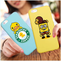 Wholesale Mobile Phone Case Dogs - For iphone 6s iphone 6 plus Animal dog cat Luffy Soft Mobile Covers Hot Cartoon Silicone Phone Back Cases Cover iphone6 case