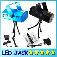Wholesale Mini Laser Lighting Blue - Mini Laser Stage Lighting - Free Shipping Blue Black 150mW Green&Red Laser DJ Party Stage Light Disco Dance Floor Lights