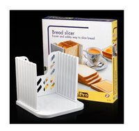Wholesale Kitchen Pro Bread Maker - 1PC Pro Bread Cut Loaf Slicer Cutter Mold Maker Even Slicing Cutting Guide Kitchen Tool 4Q277