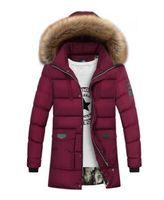 Wholesale Cross Waterproof Jacket - Speed Hiker Thick Down Jacket Men 2017 Winter With Hood Detached Warm Waterproof Big Raccoon Fur Collar For -40 degrees K3065
