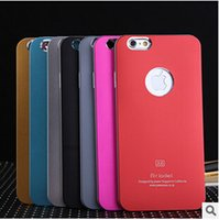 "Wholesale Iphone 4s Metallic - Popular A6 A5 Air Jacket Aluminium Metal Metallic + Plastic Hard Case Cover Shell For iPhone 6 Plus 5.5"" 4.7"" For iPhone 5 5S iPhone 4 4S"