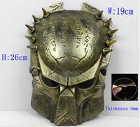Wholesale Iron Man Guns - horror Paintball Mask avpr lone Wolf Iron Airsoft BB Gun and Army airsoft mascara scary mask
