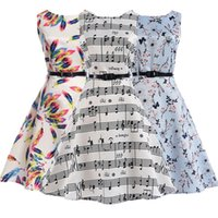 Groß-Plus Size Belle Womens Sommer Kleider 50er Jahre 60er Jahre Robe Vintage Retro Pin Up Swing Polka Rockabilly Blumendruck Kleid