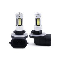 Wholesale 881 bulb online - High Power Xenon White SMD LED Replacement Bulbs For Car Fog Lights DRL Lamps V K