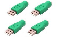 Wholesale usb male ps female for sale - PS2 PS Female to USB Male Mouse Passive Adapter USB Male to PS Female Adapter Converter PS2 Usb Connector