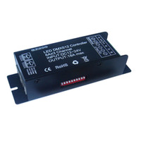 Wholesale Dmx512 Rgb Controller - 12V 24V 18A Addressable DMX512 LED Decoder RGB LED Sync Controller CE RoHS
