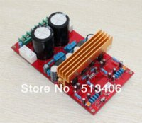 Wholesale Audio Power Protection - 1PC IRS2092 Class D 2.0 300W+300W HIFI DIY audio power amplifier board with speaker protection Assembled