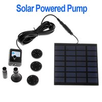 Wholesale Solar Pond Air - Hot Sale Aquarium Submersible Solar Pump For Water Cycle Pond Fountain Rockery Fountain Garden Cooling Air Pumps for Plants Wate