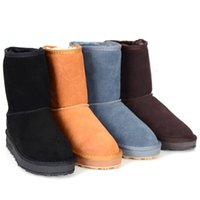 Wholesale Short Womens Winter Boots - Hot sales Womens Short Boots classic boots MNS Boots Women's boots Snow boots Brand Designer boots Leather boots glitter2009