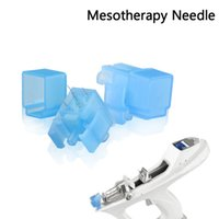 Wholesale Gun For Mesotherapy - Mesotherapy needle Meso Gun needle Wrinkle Removal Surgical stailess steel 5 needles meso injector use for Bella Vital Machine