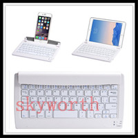 Wholesale Android Tablet Keyboard Stand - Universal Wireless Bluetooth Keyboard Stand For 8 inch Tablet PC Windows 10 Android System with retail package