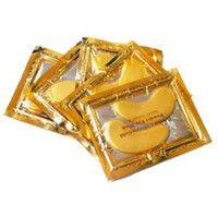 Wholesale Collagen Golden Eye Mask - New stock -Anti-Wrinkle NEW Crystal Collagen Gold Powder Eye Mask Golden Mask stick to dark circles 2000pair