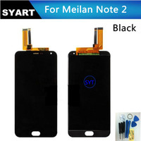 Wholesale Touch Screen Digitizer Cheap - Wholesale-Cheap Hot sale Black color LCD Screen Display + Touch Screen Digitizer assembly For Meizu M2 note