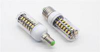 b22 35w önde toptan satış-100X E27 E26 E14 GU10 G9 B22 LED Lighta Ofis Mısır Ampul Süper Parlak 5733 SMD 7 W / 12 W / 18 W / 22 W / 25 W / 35 W 136 LEDs Sıcak / Soğuk Beyaz Via DHL