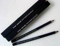 Wholesale Eye Pencil Wholesale Price - 2016 Free Shipping Lowest price Eyeliner Pencil Pencils Eye Kohl Black With Box,20pcs lot