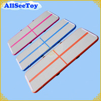 Wholesale Mat Tracks - 10ft 3 meters Long Air Track ,Inflatable Air Track for Family use, Floor Home Gymnastics Tumbling Mat, Inflatable Gymnastics Air Mat