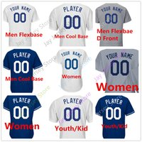 Wholesale baby blanks - Men Women Youth Baby toddler Custom Blank LAD Jersey Flexbase Cool Base Home Away All Stitched