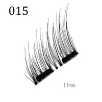Wholesale Wholesale Single Eyelash Extensions - Hot New Magnetic Eye Lashes 3D Mink Reusable False Magnet Eyelashes Extension makeup Single  Double  Three Magnet