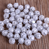 Wholesale White Christmas Ornament Balls - Creative Balloon Light Round Colourful Led Flash Ball Lamp Christmas Wedding Party Decoration Articles 0 4dl C R