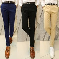 Wholesale Agent Taobao - Taobao explosion models special wholesale fashion Slim casual pants micro-channel agents tide 6 color optional XL