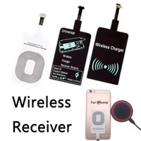 Wholesale Wireless Induction - Qi Wireless Chargeing Receiver High Quality Induction Coil Fast Charging for iPhone Android Type-C Interface Use for Wireless Charger