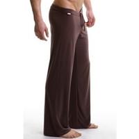 ingrosso pantalone yoga all'ingrosso-All'ingrosso-Marca Mens pantaloni da notte uomo sportivo mutandine Yoga traspirante salotto pantaloni casual pantaloni del pigiama asciugatura rapida m4