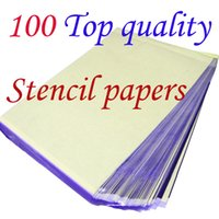 Wholesale Transfer Papers Wholesalers - 100 Sheets A4 Tattoo Transfer Stencil Paper Top Quality T801