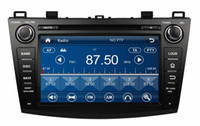 """Wholesale Gps Box For Car Dvd - HD 2 din 8"""" Car audio Car dvd gps navigation for Mazda 3 2009-2012 With Bluetooth IPOD TV Radio  RDS SWC USB AUX IN + Can bus box"""