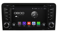 Wholesale Audi Gps Stereo - 2 din 7 inch Pure Android 4.4 Car DVD Player GPS Radio for for AUDI A3 (2003-2011) With Stereo Radio Bluetooth Phone Support 3G Internet