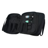 vape mod fällen taschen großhandel-Dampftasche Double Deck Vape Tragetasche Vaping Case Ecig Tragetasche mit Schultergurt für RDA RTA RBA Mech / Box Mod